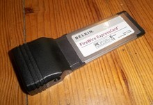 Belkin FireWire ExpressCard