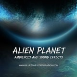 Bluezone Alien Planet Ambiences and Sound Effects