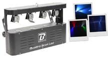 BoomToneDJ Quattro Scan LED