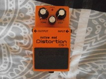Boss DS-1 Distortion - Outlaw Mod - Modded by Machine Head Pedals