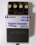 Boss DSD-3 Digital Sampler/Delay