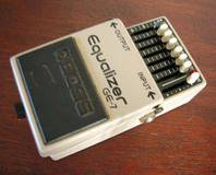 Boss GE-7 Equalizer (Japan)