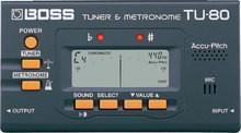 Boss TU-80 Tuner & Metronome