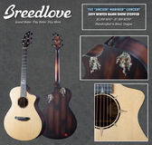 "Breedlove The ""Ancient Mariner"" Concert 2019 Winter NAMM Show Stopper"