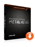 Cakewalk Chocolate Cake Drums: MetalHead Kit