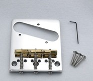 Callaham Tele Bridge Assembly for American Standard with 3 Enhanced Compensated Saddles
