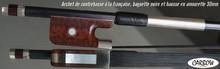 Carbow Archet de contrebasse en carbone, hausse 30mm amourette