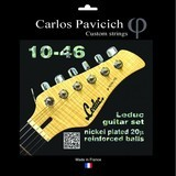 Carlos Pavicich Custom Strings Leduc guitar set