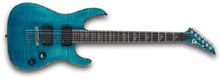 Charvel Desolation Soloist DX-1 ST - Transparent Blue Smear