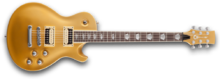 Charvel Pro Stock DS2 - Satin Gold Metallic