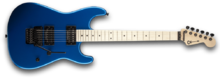 Charvel San Dimas Style 1 HH 2013 - Candy Apple Blue