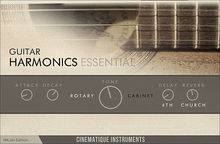 Cinematique Instruments Guitar Harmonics Essential