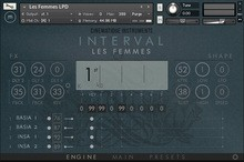 Cinematique Instruments Interval - les Femmes