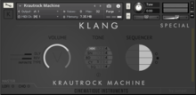 Cinematique Instruments Krautrock Machine