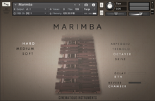 Cinematique Instruments Marimba