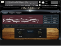 Cinesamples CineStrings Runs