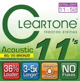 Cleartone Strings Acoustic 80/20 Bronze Extra Light 11-52