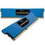 Corsair Memory Vengeance Low Profile Blue Series 8 Go (2x4Go) DDR3 1600MHz CL9