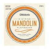 D'Addario Flat Wound Mandolin