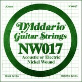 D'Addario NW017 Single XL Nickel Wound 017