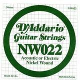 D'Addario NW022 Single XL Nickel Wound 022