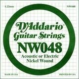 D'Addario NW048 Single XL Nickel Wound 048