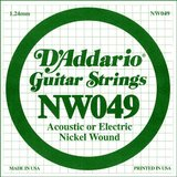 D'Addario NW049 Single XL Nickel Wound 049