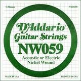 D'Addario NW059 Single XL Nickel Wound 059