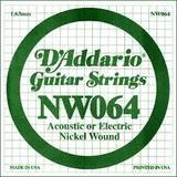 D'Addario NW064 Single XL Nickel Wound 064