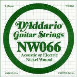 D'Addario NW066 Single XL Nickel Wound 066