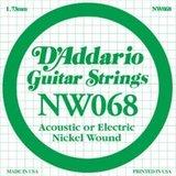 D'Addario NW068 Single XL Nickel Wound 068
