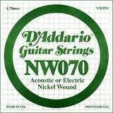 D'Addario NW070 Single XL Nickel Wound 070