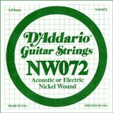 D'Addario NW072 Single XL Nickel Wound 072