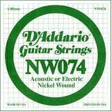 D'Addario NW074 Single XL Nickel Wound 074