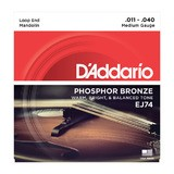 D'Addario Phosphor Bronze Wound Mandolin