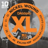 D'Addario XL Nickel Round Wound - EXL110-10P