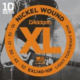 D'Addario XL Nickel Round Wound - EXL140-10P