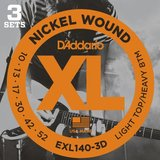 D'Addario XL Nickel Round Wound - EXL140-3D