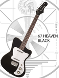 Danelectro 67 Heaven - Black