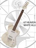 Danelectro 67 Heaven - White Alligator