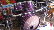 Ddrum custom maple shell