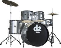 Ddrum D2 - Brushed Silver