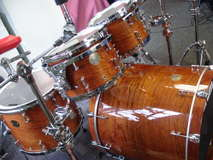 "Ddrum Dios Bubinga ""Tiger eye"""