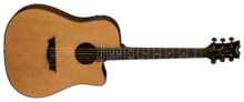 Dean Guitars AXS Dreadnought Cutaway