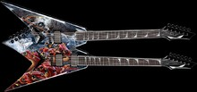Dean Guitars Dave Mustaine VMNT Double Neck Diadem