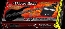 Dean Guitars E09 Bass & Amp Pack - Classic Black