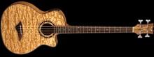 Dean Guitars Exotica Quilt Ash Bass - Gloss Natural