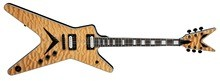 Dean Guitars ML Select Quilt Top Gloss Natural