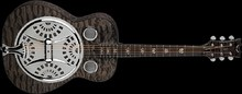 Dean Guitars Resonator Spider Quilt Maple