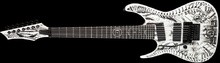 Dean Guitars Rusty Cooley RC7X Lefty 7-String Wraith